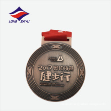 Prêmio de exportação de expoxto de fábrica medalha de metal desportivo