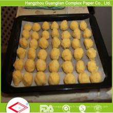 Papier de cuisson traité par silicone de 460mm X 710mm pour le marché de l'Australie