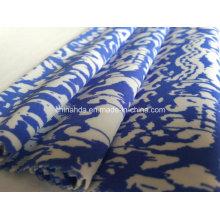Синий печать ткань для спортивной одежды (HD1401102)
