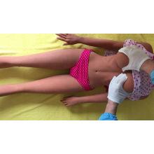 ¡El más nuevo! Muñecas sexuales de silicona de medio cuerpo de pecho grande suave Vagina 4D realista y muñeca de amor anal Productos sexuales para adultos