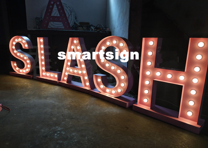 Wedding Marquee Light Signs