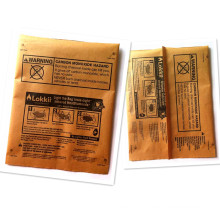 Paper Plastic Charcoal Packaging Pouch, Middle Sealed Pouch