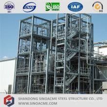 High Rise Metal Frame Chemical Plant