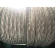 Cuerda de nylon de la cuerda de nylon de la cuerda de la amarradura de la cuerda doble de la trenza