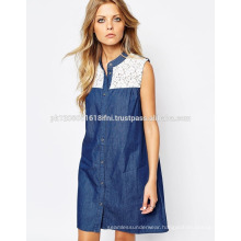 Jeans dress for women and girls wholesale custom made
