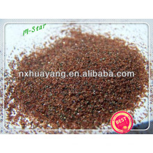 Fábrica 30/60 Garnet Sand para jateamento de areia