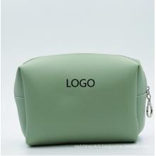 Custom Vegan Leather Travel Bag PU Toiletry Bag Cosmetic Makeup Bag