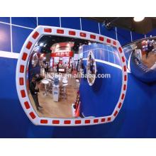 12x18 inch plastic outdoor traffic reflective convex mirror