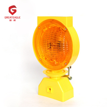 Road Barricade Light Flashing Led Lámpara de advertencia solar