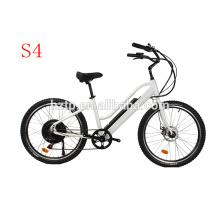 Populaire style gras e vélo caché batterie électrique plage cruiser vélos électriques 2018