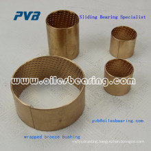 Rolled, Bronze, low maintenance,Oil or grease-based lubrication bearing