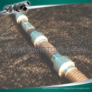 Perles sciées par fil pour le carriage, le blocage et le profilage (SG-056)