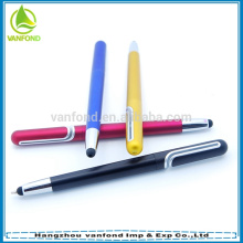 new design promotional cheap gift screen touch pen with plastic material