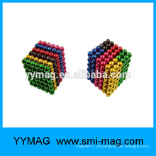 Imanes multi de la bola del color 5m m de la alta calidad