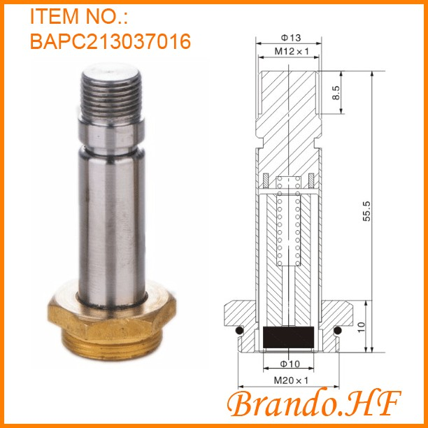 off valve set plunger tube assembly