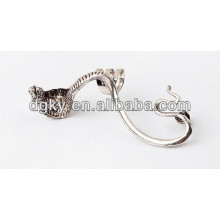 Alloy Vintage Orelha Piercing Cobra Ear Clip