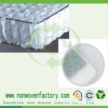 Material no tejido 100% del polipropileno del paño de la tela de los PP