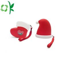 Sac à main spécial en silicone avec sac pliable pour chapeau de Noël
