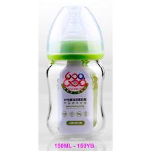 Botella de alimentación para bebés de vidrio borosilado neutro 150ml
