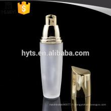 Bouteille en verre de lotion de base de 35ml avec le pulvérisateur UV