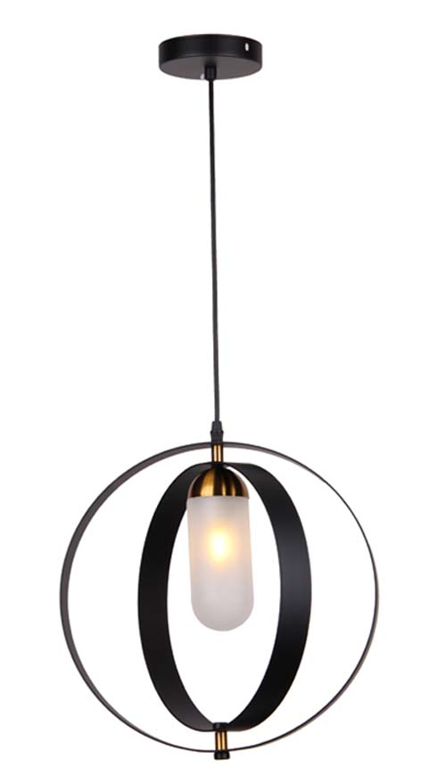 Black Simple Chandelier