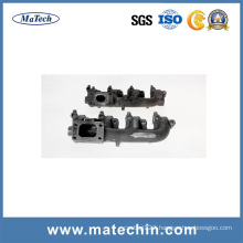 OEM Service Sand Iron Casting for Car Exhaust Manifold