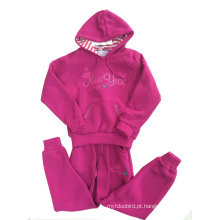 Hoodies da menina da forma, Hoodies das crianças com o zíper na roupa das crianças (SWG-112)