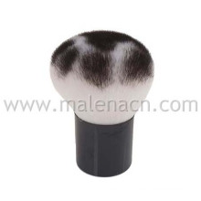 Kabuki Cosmetic Brush with Leopard Pattern