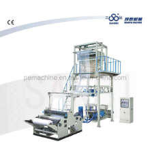 Machine à film à couche unique avec tête rotative (CE)
