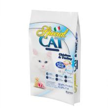 Saco de reforço lateral com selo térmico Saco de animal de estimação impresso personalizado com logotipo