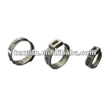 stainless steel clamps brass tubing clamp for PEX tubing