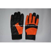 Перчатка работы безопасности перчаток-перчатка механика-ПУ перчатки безопасности перчатки промышленные перчатки труда перчатки