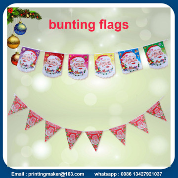 Banderas triangulares Bunting Banner 10m Run