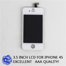 Alta calidad para iPhone 4S LCD con pantalla táctil completa