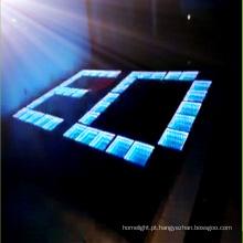 O diodo emissor de luz 3D da complementaridade mútua ilumina acima Dance Floor