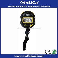 Chronomètre de 20 tours, grand chronomètre numérique, chronomètre de marque avec carte blister