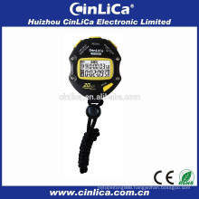 20 lap memory big digital stopwatch brand stopwatch with blister card