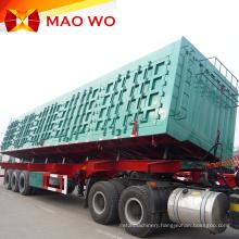 High Quality Hydraulic Cylinder 60t Side Dump Trailer