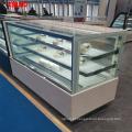 Armário de exposição refrigerando comercial do bolo da grande capacidade