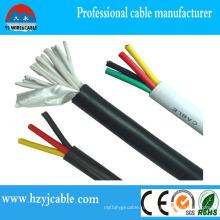 450/750 Гибкий медный кабель управления проводом Kvv 12X0.75mm2