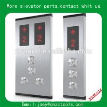 Painel de operação de aterragem LOP elevador