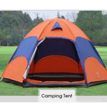 Atacado ao ar livre à prova d 'água 5-8 pessoa 2 camadas barraca de acampamento