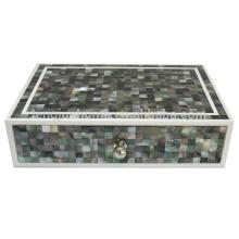 Mutter Perle Shell Aufbewahrungsbox Kunststoff Aufbewahrungsbox