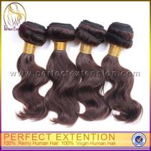 Jungfrau-rohes Unprocesse-Jungfrau-indisches Haar, das 2014 neues Produkt webt