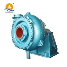 Amphibious excavator gravel pump