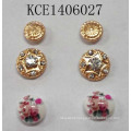 Fashion Jewellery Lovely Earrings Set with Metal
