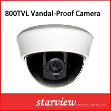 800tvl IR cámara de seguridad de cúpula de plástico CCTV (D13)