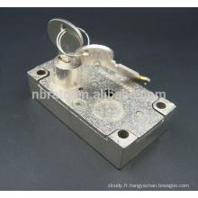 Verrouillage de coffre-fort à double clé de remplacement