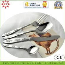 Cuisinière et cuillère à café Eco-Firendly en acier inoxydable