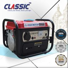 CLASSIC CHINA Gerador de gasolina 700w Gerador portátil, 750w Gerador de gasolina ohv